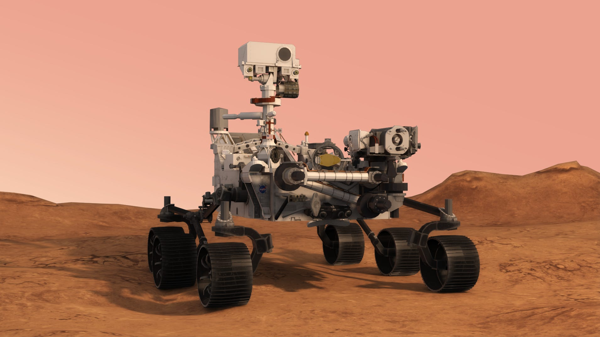 Nasa Rover sends back awesome images
