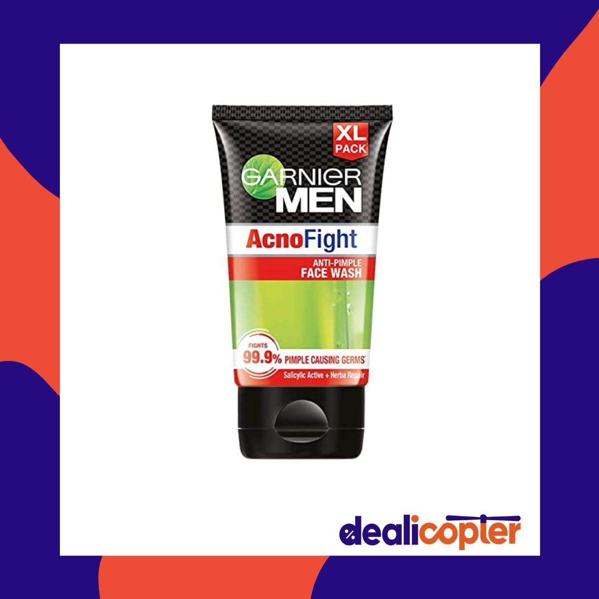 Best Garnier Men Acno Fight Anti Pimple Facewash