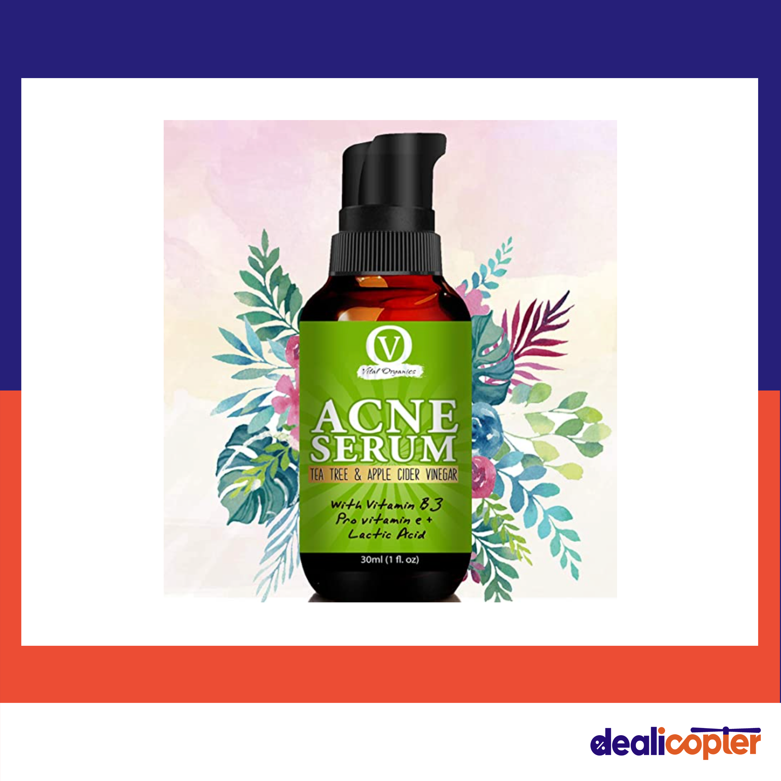 Acne Gel Serum For Acne Treatment And Sports