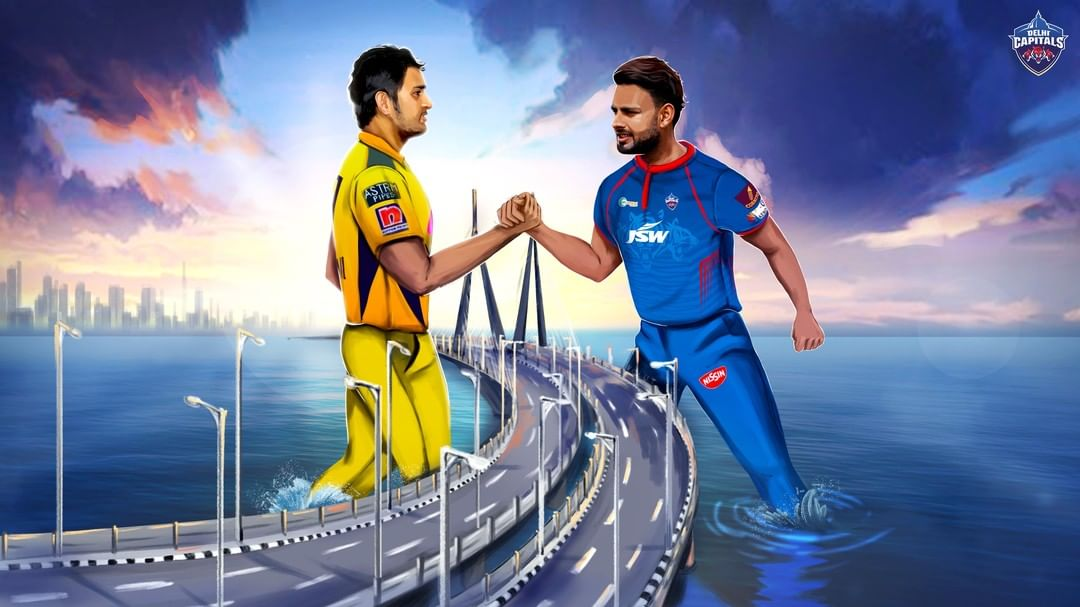 Chennai Takes on The Capital's in the second encounter of the Vivo IPL 2021
