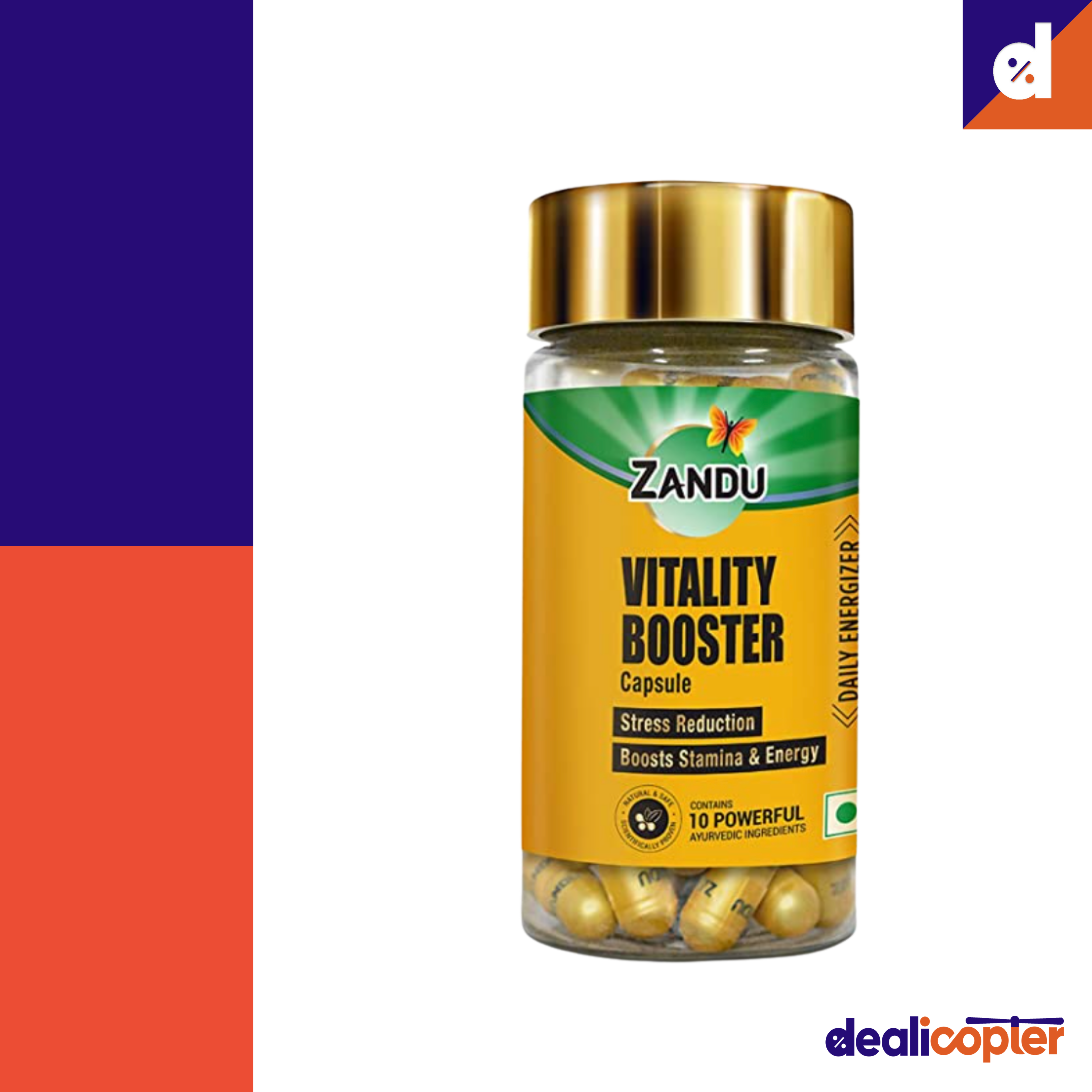 Best Help To Boost Energy And Strength Veg Capsules