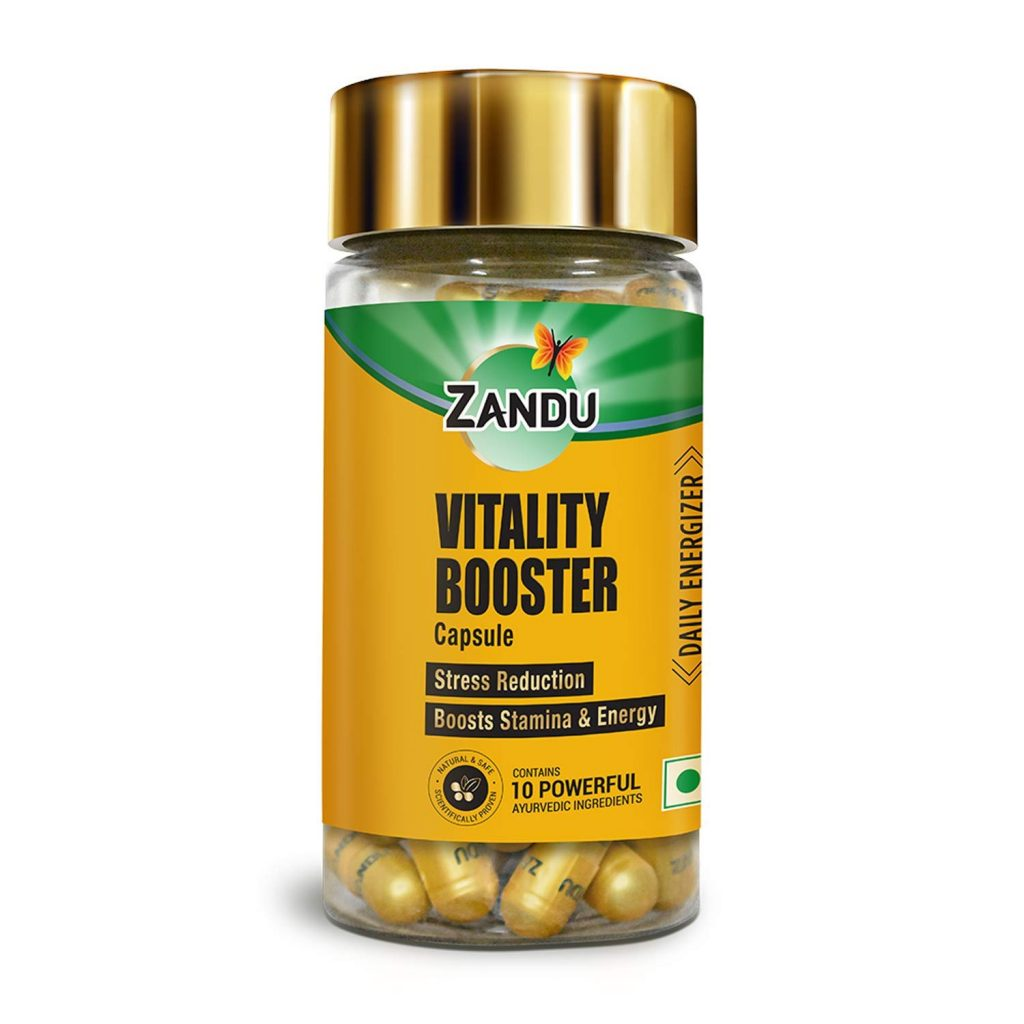 boost energy and strength veg capsules