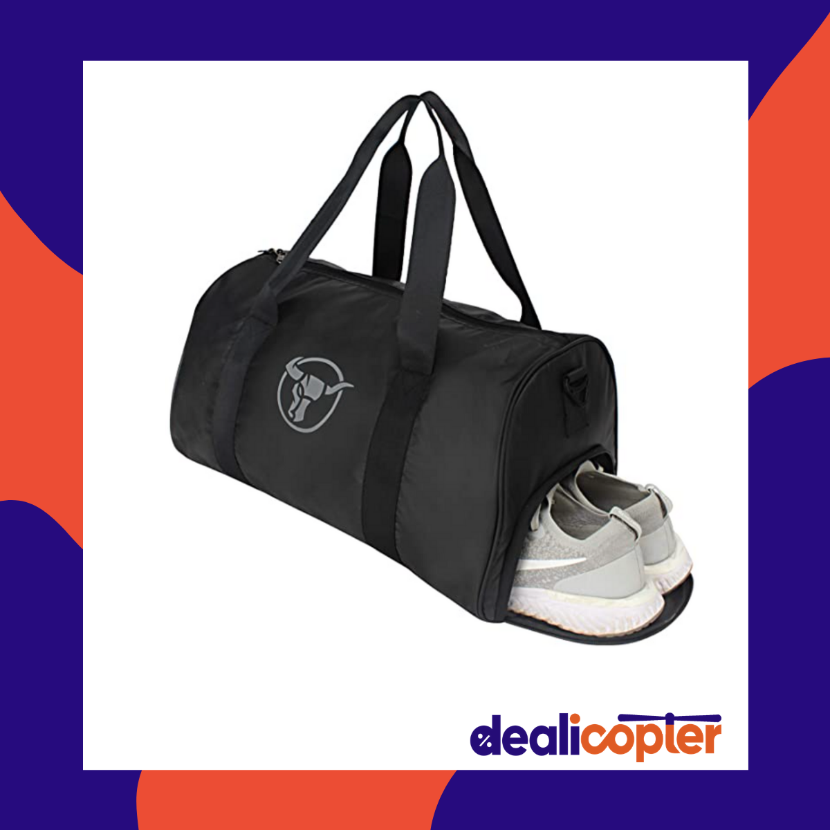 Urban Tribe Fury Gym Bag with Separate Shoe Compartment