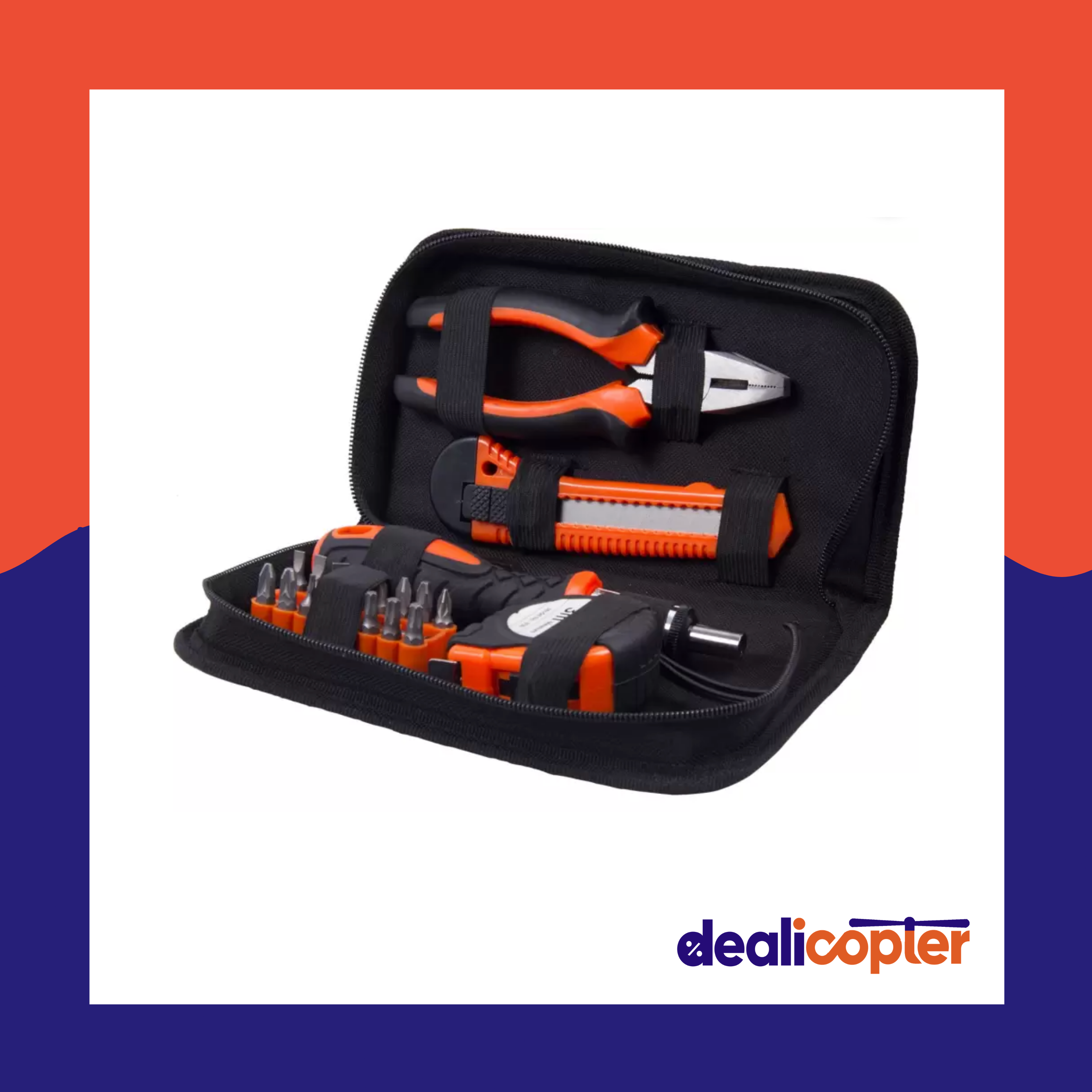 ALL-IN-ONE 21PCS hand tool kit