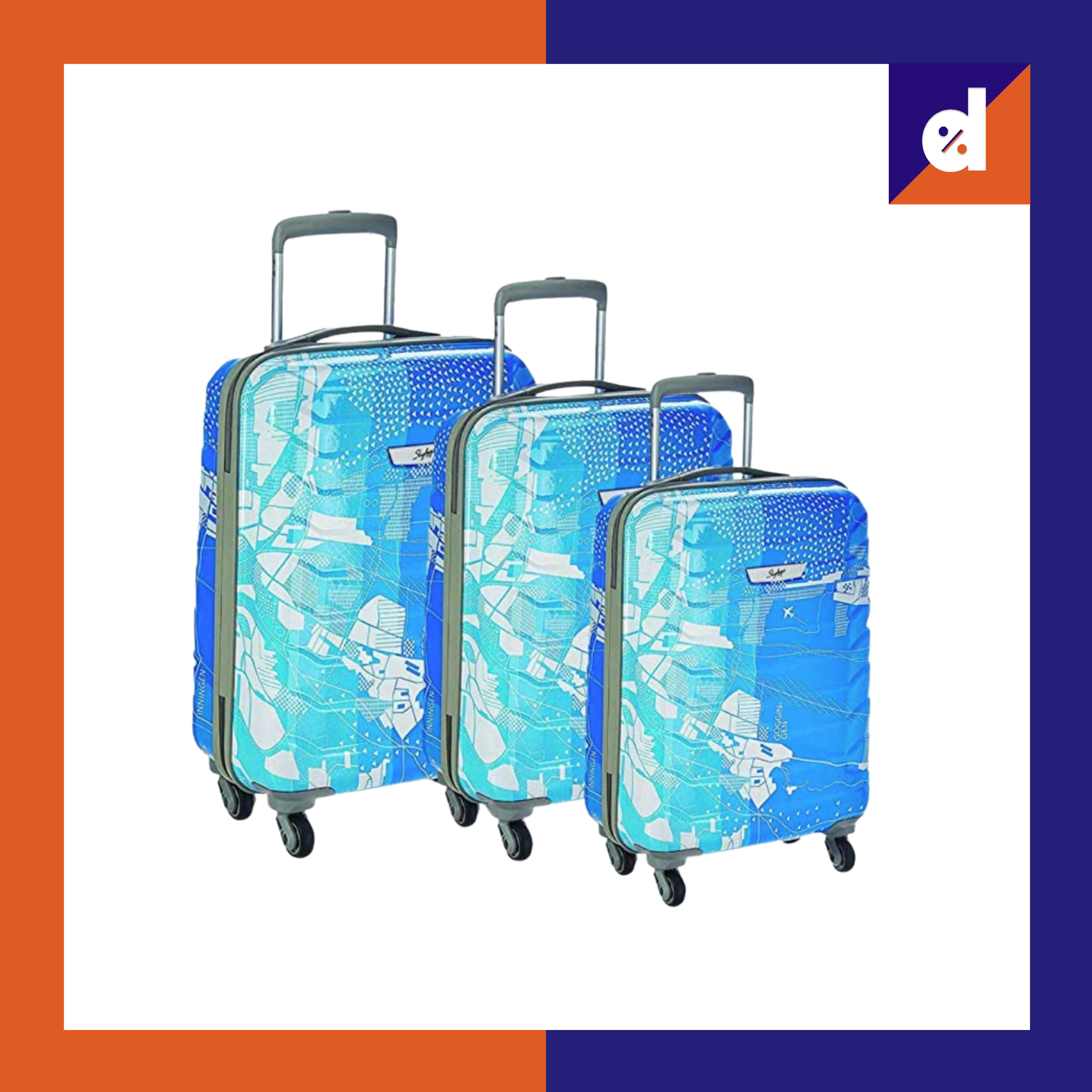 Skybags trooper polycarbonate luggage