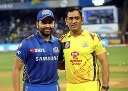 Super Kings Playing MI Paltan in the 27th Match of Vivo IPL.