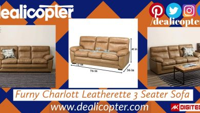 Furny Charlott Leatherette Sofa: Crafted With Excellence!
