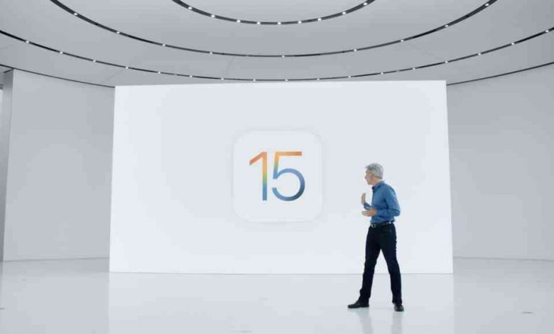 Apple: iOS 15, all you need to know.
